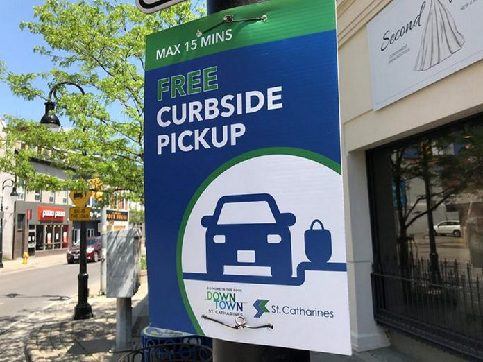 Similar to other Ontario municipalities such as St. Catharines, the City of Peterborough is setting up free 15-minute curbside pick-up zones in downtown Peterborough. (Photo: City of St. Catharines)
