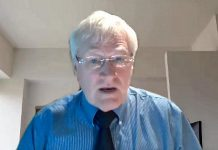 Dr. Ian Gemmill, acting medical officer of health for Haliburton, Kawartha, Pine Ridge District Health Unit, during a virtual media briefing on January 13, 2021. (YouTube screenshot)