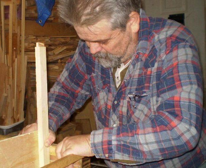 Lindsay artisan woodworker James Lukow, a member of the Kawartha Lakes Arts Council, at work in his studio. (Photo courtesy of Kawartha Lakes Arts Council and the artist)