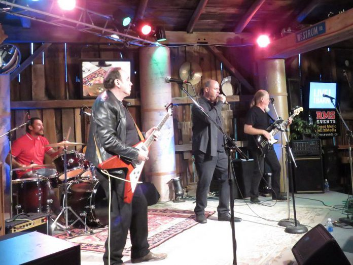 A performance by Tungsten will be released on Andy Tough's YouTube channel on January 22, 2021. The band's drummer, Nathan Lauder, was seriously injured in a motorcycle crash shortly after the band's performance was recorded in September 2020.  (Photo: Linda Tough)