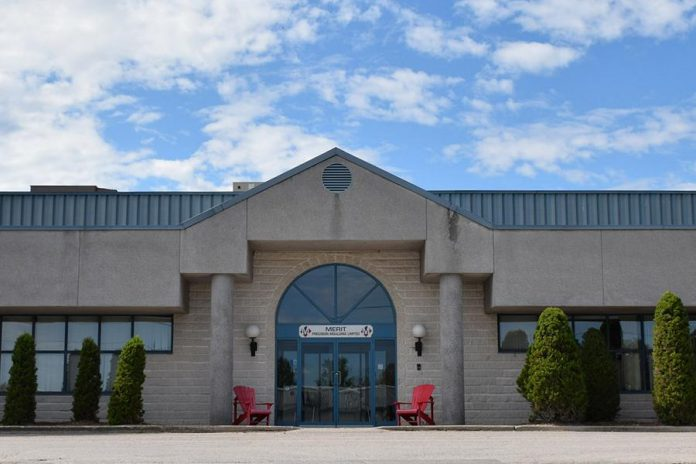 Merit Precision Limited's plant and main office at 2035 Fisher Drive in Peterborough. The injection moulding company, which primarily manufactures parts and components for the auto sector, will be expanding to manufacture bottles for COVID-19 hand sanitizers and disinfectants produced by Peterborough's  Charlotte Products. (Photo: Merit Precision)