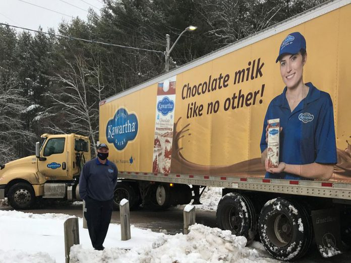 Bobcaygeon-based Kawartha Dairy, along with Gay Lea, donated butter to the North Kawartha Food Bank. (Photo courtesy of North Kawartha Food Bank)