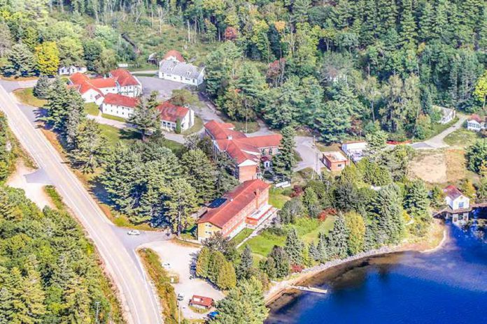 The Ontario Public Service Employees Union (OPSEU/SEEPO) has purchased the Leslie M. Frost Natural Resource Centre in Haliburton County for $3.2 million. The 40.63-acre property has 1,480 feet frontage along Highway 35 and 2,800 feet of shore line on St. Nora Lake. It includes 21 buildings that can accommodate more than 200 people in a mix of dorm-style rooms and cottages, a full kitchen, dining, hall, and recreation centre. (Photo: CBRE Limited Real Estate Brokerage)