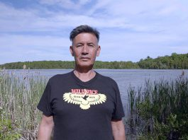"""The 2021 ReFrame Film Festival is a panacea for pandemic boredom, offering nearly 50 feature-length and short documentary films streaming online between January 22 and 29, including local films such as Drew Hayden Taylor's """"Cottagers & Indians"""", which explores the decades-long disagreement between Indigenous wild-rice harvester James Whetung and landowners on Pigeon Lake. Taylor will also be delivering a keynote address on the opening night of the festival on Friday, January 22. (Photo: Paul Kemp Productions)"""