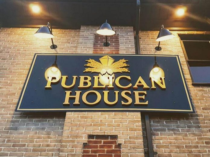 Publican House first opened as a retail craft brewery in downtown Peterborough and then expanded to include a brew pub. (Photo courtesy of Publican House)