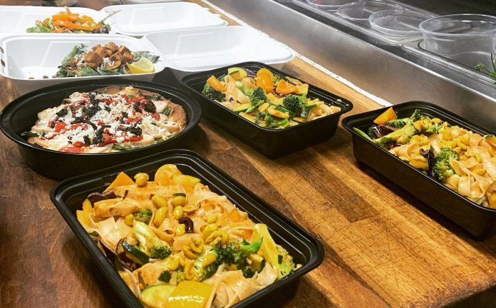 In addition to their weekly featured specials, you can also order takeout or delivery from Gerti's regular diverse menu. Gerti's delivers within 15 kilometres of their location for a $5 delivery fee, or you can pick up your takeout order safely from the restaurant. (Photo by Gerti's chef Eric McKibbon)