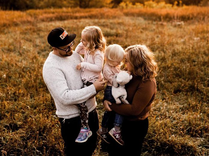 In addition to running their restaurant, Rare owners Tyler and Kassy Scott are raising their two young daughters. (Photo by Erin Caitlyn, supplied by Rare)
