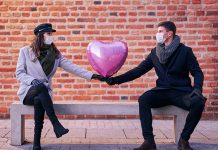 Dating during a pandemic has created a whole new set of challenges for those looking for love. Three couples share their experiences with developing relationships when we're all being encouraged to stay home and keep apart. (Stock photo)