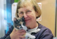 Cynthia (Cyndy) Richards, who passed away in 2019, has bequeathed $741,000 to the Peterborough Humane Society. Richards was an avid volunteer at the Peterborough Humane Society who owned a number of rescued cats. (Supplied photo)