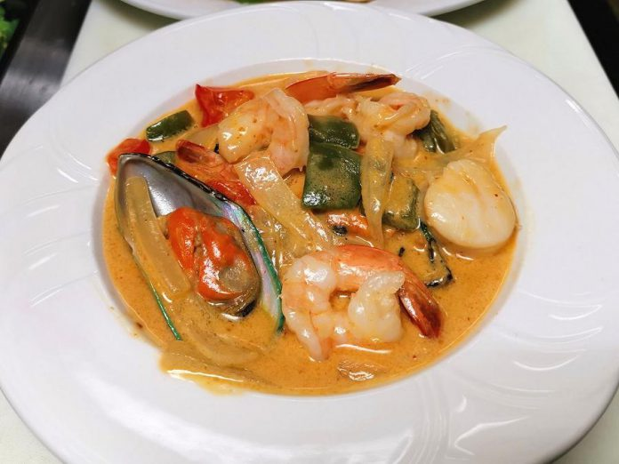 You can win a $50 gift certificate for an authentic Thai dinner at Orchid Thai Bistro in Fenelon Falls, one of 20 local restaurants participating in Kawarthas Northumberland's KN Eats Giveaway contest running March 1 to 26, 2021. (Photo courtesy of Orchid Thai Bistro)