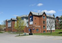 Severn Court Student Residence at 555 Wilfred Drive in Peterborough provides off-campus student housing primarily to Fleming College students, as well as students of Seneca College Aviation and Trent University. (Photo: Severn Court Management Company / Facebook)