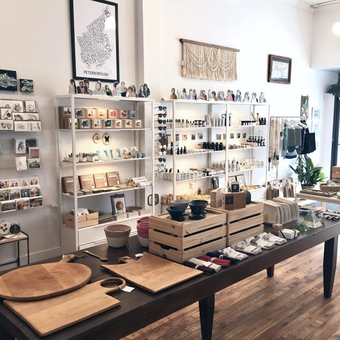 More than 75 per cent of the creative goods at Watson & Lou are made in Peterborough and the Kawarthas by local artists and makers. (Photo courtesy of Watson & Lou)