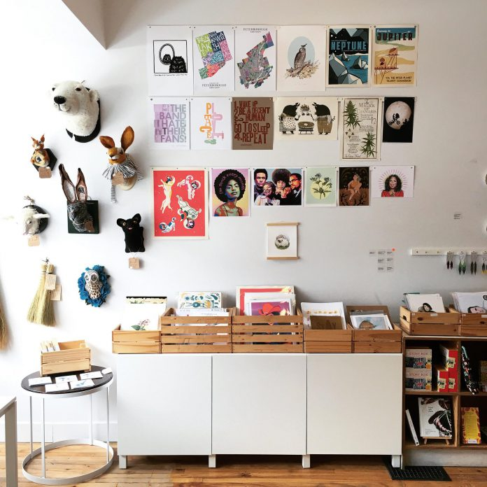 Watson & Lou in downtown Peterborough offers unique creative items, many hand-made by local artists and makers, that you just can't find anywhere else. (Photo courtesy of Watson & Lou)