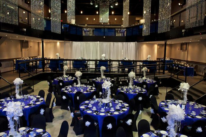 The Venue in downtown Peterborough is a multipurpose event space that hosts a wide range of events including conferences and conventions, weddings, business meetings, galas and other fundraisers, concerts, art shows, and sports events. (Photo: Kawartha Entertainment Group Inc.)