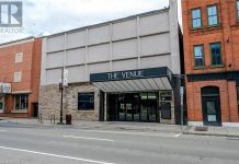 The Venue in downtown Peterborough is listed for sale for $2,450,000. (Photo: REALTOR.ca)
