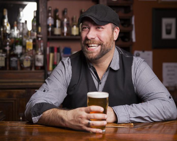 Travis Smith, owner of Olde Stone Brewing Company and Hot Belly Mama's in downtown Peterborough. (Photo via Olde Stone Brewing Company website)