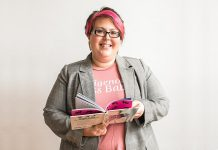 Ashley Lamothe, owner of Creative Kwe in Peterborough/Nogojiwanong, has been named entrepreneur of the month by the Native Women's Association of Canada. (Photo: Heather Doughty)