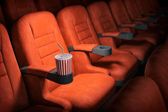 With the Peterborough region moving into the more restrictive 'Red-Control' COVID-19 level effective March 8, 2021, Galaxy Cinemas in Peterborough will once again be closed. Other restrictions include fewer people allowed to gather indoors and outdoors, a maximum of four people seated together in restaurants, decreased capacity limits for retail stores, no personal care services that require the removal of face masks, and more. (Stock photo)