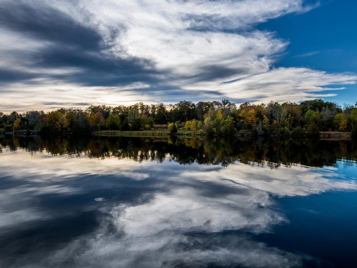 With the guidance of Green Economy Peterborough, businesses can make sustainability targets and track reductions in greenhouse gas emissions that are not only better for the environment but also save costs with lower energy bills. (Photo of Otonabee River by Paul Hartley / Getty Images)