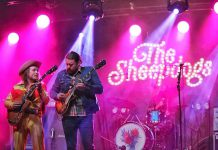 Following a pilot project last fall that saw The Sheepdogs and three other bands perform at two drive-in concerts in the Peterborough Memorial Centre parking lot, plans are in the works for six more drive-in concerts to be staged in summer 2021, with Showplace Performance Centre and Market Hall Performing Arts Centre on board to assist with programming. (Photo: Kate O'Neill)