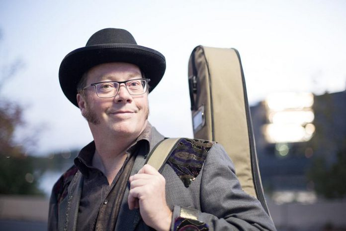 """Peterborough musician Rick Fines has been nominaed for a 2021 Juno Award for Blues Album of the Year for his latest record """"Solar Powered Too"""". (Photo: Wayne Eardley)"""