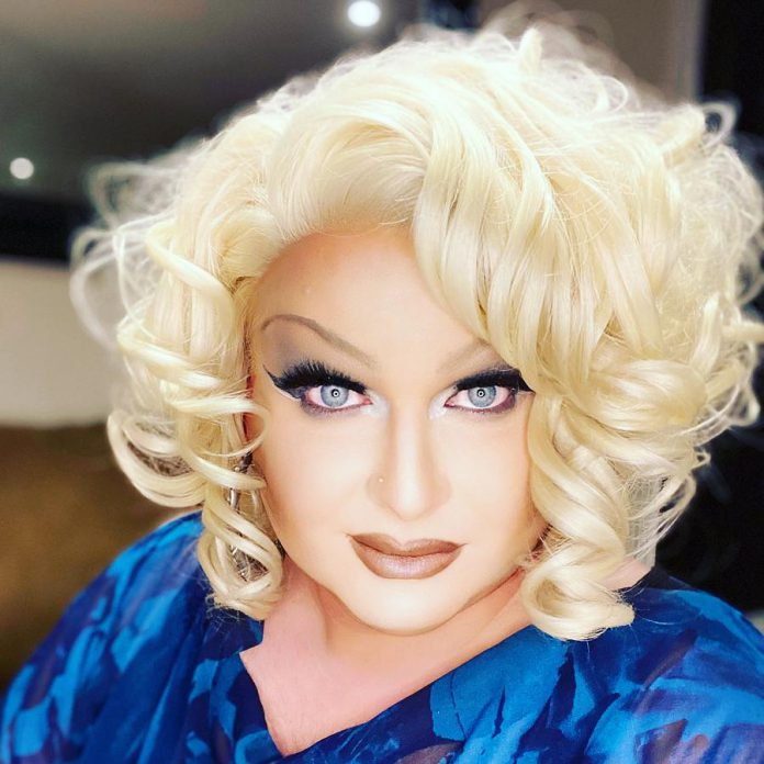 Miss Divalicious was part of the committee that organized the first Pride Day in Peterborough in 2003 and also performed. (Supplied photo)