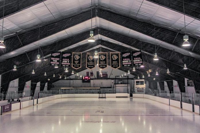 Bobcaygeon is competing against three other communities to be voted the winner of Kraft Hockeyville 2021 Canada. If Bobcaygeon wins, the community will use the $250,000 to upgrade accessibility of the Bobcaygeon-Verulam Community Centre among other things. (Photo supplied by City of Kawartha Lakes)