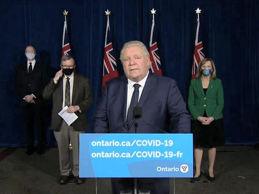 Ontario will begin third provincial shutdown on Saturday, April 3, 2021