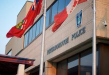 Peterborough Police Service headquarters on Water Street in Peterborough. (Photo: Pat Trudeau)