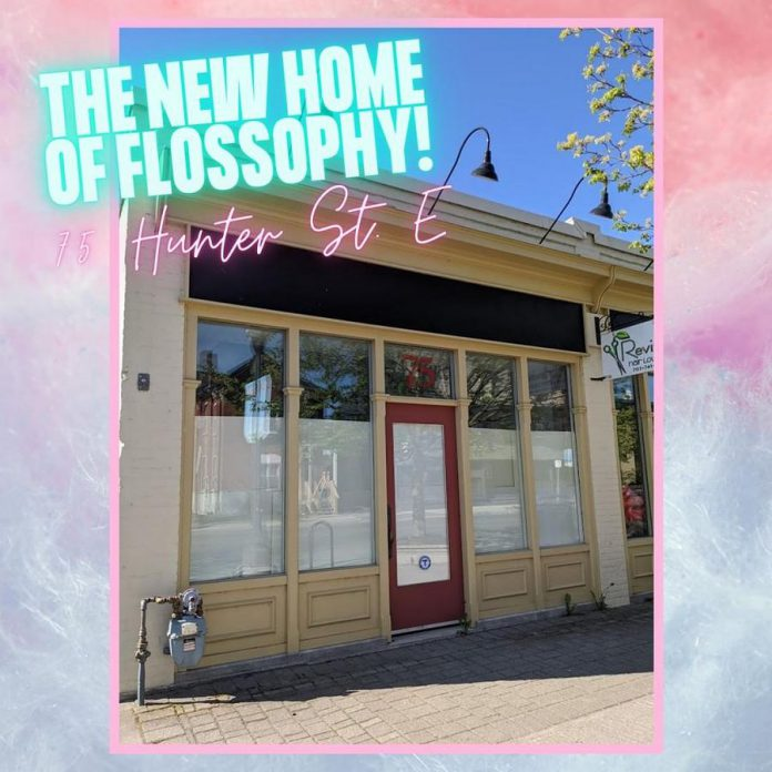 Flossophy will be located at 75 Hunter Street East in Peterborough's East City. (Photo: Flossophy)