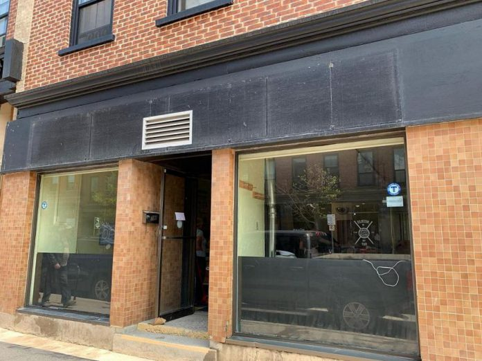 Tragically Dipped Donuts will be located at 386 Water Street, the former location of social enterprise Catering Plus, located across the street from Needles in the Hay. (Photo: Tragically Dipped Donuts)