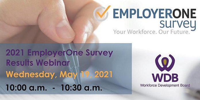 orkforce Development Board hosting webinar of results of EmployerOne survey on May 19