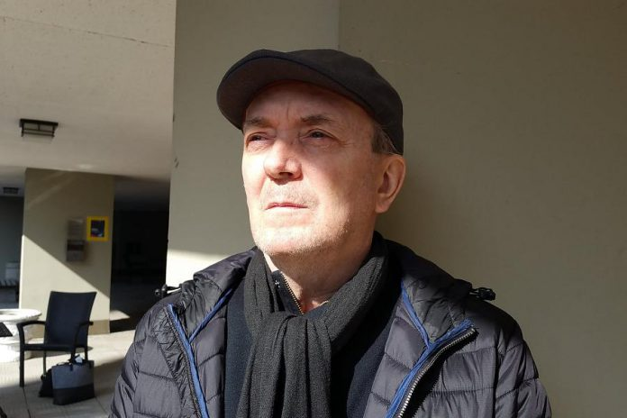 """Now based in Toronto, artist David Bateman was born and raised in Peterborough. He is one of Canada's most highly regarded performance artists, a prolific visual artist, and a published poet, playwright, and short fiction writer whose debut novel """"Dr. Sad"""" was published in 2020. (Photo: David Bateman / Facebook)"""