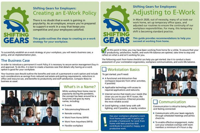 The Shifting Gears team at Peterborough GreenUP has made two guides available for both employers and employees on adjusting to working from home.