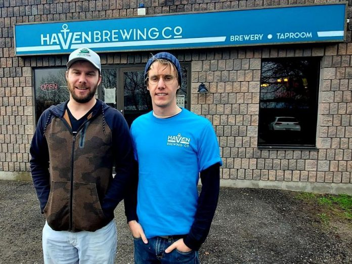 Brothers Andrew and Nathan Anker are the owners of Haven Brewing Company in Peterborough, previously Smithaven Brewing Company. (Photo: Haven Brewing Company)