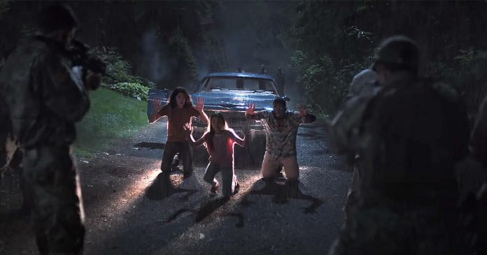 """Sci-fi thriller """"Awake"""", which stars Gina Rodriguez as a troubled ex-soldier who fights to save her family as society and her mind spiral into chaos after a global event wipes out all electronics and humanity's ability to sleep, was partly filmed in Peterborough in 2019. The Netflix film premieres on June 9, 2021. (Photo: Netflix)"""