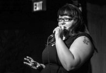 D.B. Mcleod is an Anishnaabe Kwe comedian whose home territory is Sagamok Anishnaabek First Nation on the north shore of Lake Huron. One of six acts at the Nogojiwanong Indigenous Fringe Festival, running June 23-27, 2021 at Trent University, she will be performing her stand-up show 'Denis with an E'. (Photo via Ontario Performing Arts Presenting Network)
