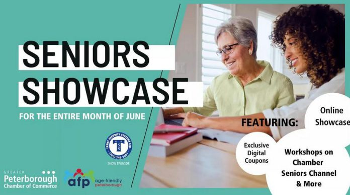 The Peterborough Chamber of Commerce's 2021 Seniors Showcase, presented in partnership with Age Friendly Peterborough, is running virtually for the entire month of June on the Chamber's website and social media channels.