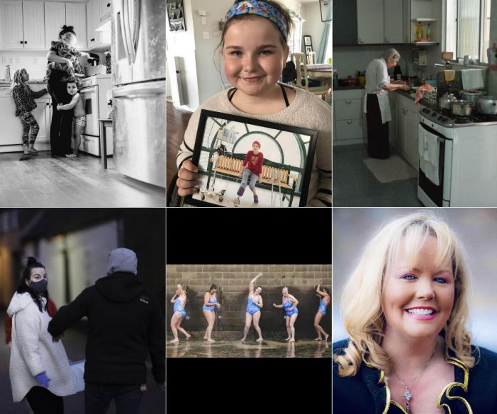 The top six photos submitted to Peterborough photographer Heather Doughty's international 'She Inspires Me' contest (clockwise from top left): Angel (Sacramento, California), Neave Alderson (Peterborough, Canada), Thereza Campagnani (Rio de Janeiro, Brazil), Dr. Kathy Reilly Fallon (New York City, USA), Port Melbourne Icebergs (Melbourne, Australia), and Maibritt Jensen (Newbury, UK). (Photos supplied by Inspire: The Women's Portrait Project)