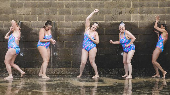 Port Melbourne Icebergs, an outdoor swimming group in Melbourne, Australia