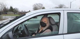 Phyllis, a volunteer driver for Community Care Peterborough in Havelock, has driven throughout this pandemic to help clients get to important medical appointments. The not-for-profit organization that provides services to seniors and adults with physical challenges is looking for volunteer drivers who, like Phyllis, are caring and reliable. (Photo: Community Care Peterborough / Facebook)