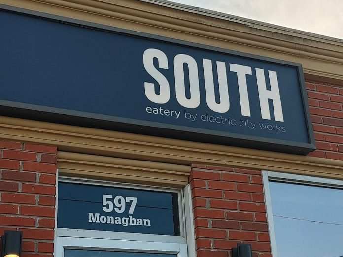 South - Eatery by Electric City Works is located at 587 Monaghan Road in Peterborough. Owners Tara Lee and Adam Genge extensively renovated the location prior to opening. (Photo: Tara Lee Genge)