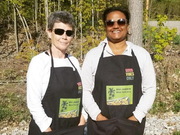 Dawn Nichol and Deborah Matthews recently started Wah-Jamakin, offering authentic Jamaican cuisine for takeout or delivery in Curve Lake and Buckhorn. (Photo: Jasmine Grey)