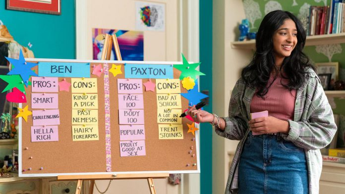 """""""Never Have I Ever"""" is a coming-of-age comedy-drama series produced by Mindy Kaling and inspired by her old childhood. Season two premieres on Netflix on July 15, 2021. (Photo: Netflix)"""