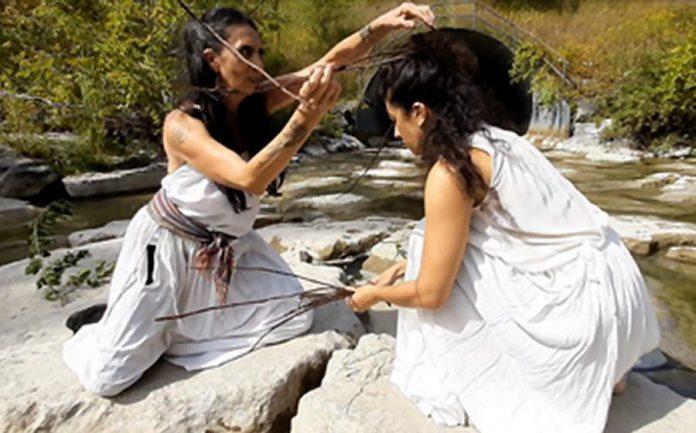 Olga Barrios and Norma Araiza of Vanguardia Dance Projects. (Photo courtesy of NIFF)