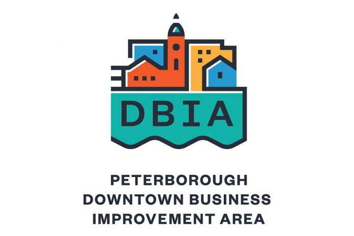 The new logo of the Peterborough Downtown Business Improvement Area. (Image courtesy of Peterborough DBIA)