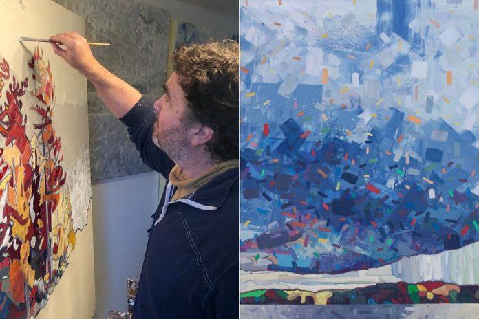 David Grieve (Painting, Studio G)