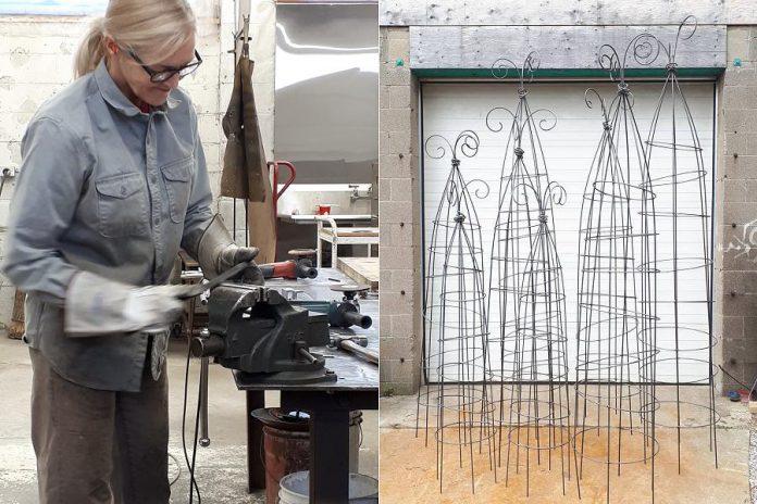 Clare Scott-Taggart (Metal Sculpture, Studio F)