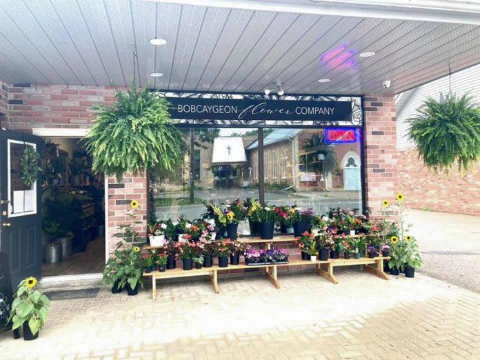 Jenna Sawyer opened Bobcaygeon Flower Company at 47 William Street on June 26, 2021. (Photo courtesy of Bobcaygeon Flower Company)