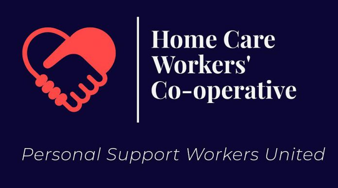 Home Care Workers' Co-operative Inc. is  Ontario's first not-for-profit cooperative owned by personal support workers. (Graphic: Home Care Workers' Co-operative Inc.)